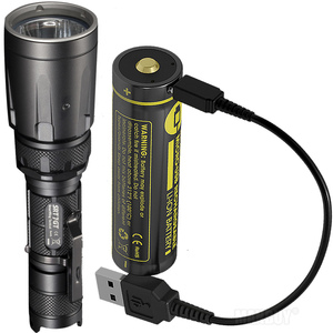 Image 1 - Nitecore 5 Kleur SRT7GT + Usb Oplaadbare Batterij Cree XP L Hi V3 1000LM Smart Ring Waterdichte Zaklamp Uv Licht Rescue torch
