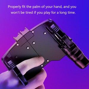 Image 5 - Игровой контроллер, помощник для игровой стрельбы, триггер, кнопка огня, геймпад, черный джойстик
