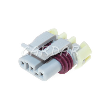 1 Set 3 Pin 12129946 LS MAP And 58x Crank Engine Speed Sensor Connector Wiring Connector Socket image