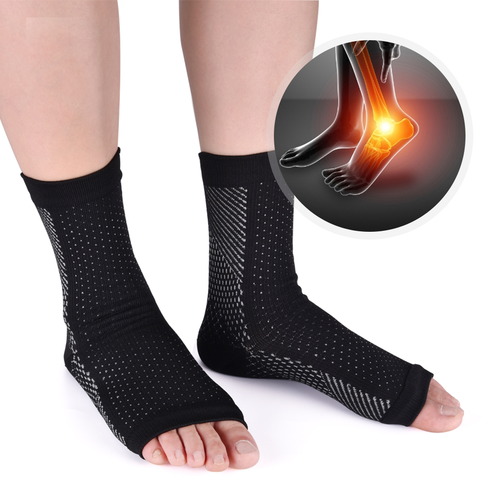 Ankle Heels Support Women Men Compression Foot Angel Sleeve Heel Arch Support Pain Relief Foot HealthCare Socks Hot Dropshipping