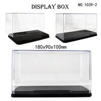 Nuova piccola scatola di visualizzazione acrilica trasparente modello vetrina antipolvere Building Block Storage Show Box giocattoli regalo per bambini