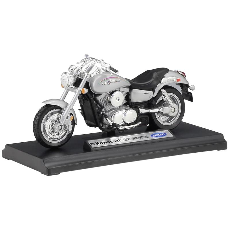 2002 Kawasaki Vulcan 1500 Mean Streak Welly Motorrad Modell 1:18