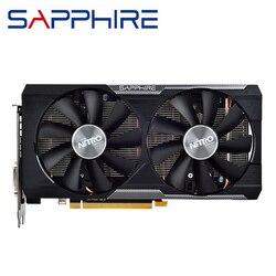 Asli Sapphire R9 380 4GB Video Kartu GPU AMD Radeon R9380 4GB Kartu Grafis Double BIOS Desktop PC komputer Peta Tidak Mining