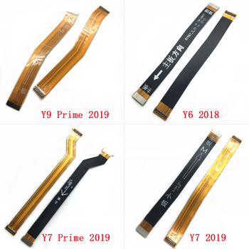 5pcs/lot Connector Mainboard Flex Cable For Huawei Y5 Y6 Y7 Y9 Prime 2017 2018 2019 Main MotherBoard Connect Ribbon LCD Display image