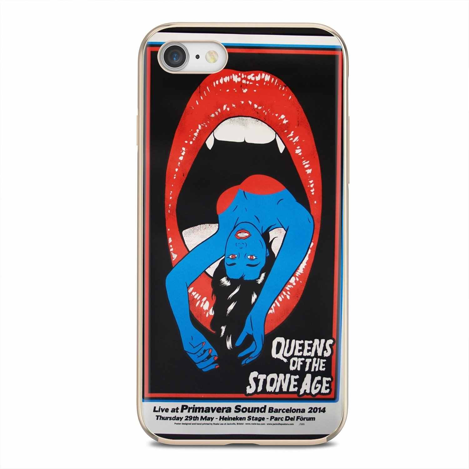 Silicone Bag Case Queens Of The Stone Age Wallpaper For Samsung