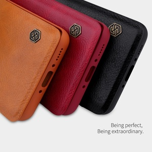 Image 2 - OnePlus 8 case OnePlus 7T Pro case NILLKIN Vintage Qin Flip Cover wallet PU leather PC back cover for OnePlus 7T OnePlus 7 Pro