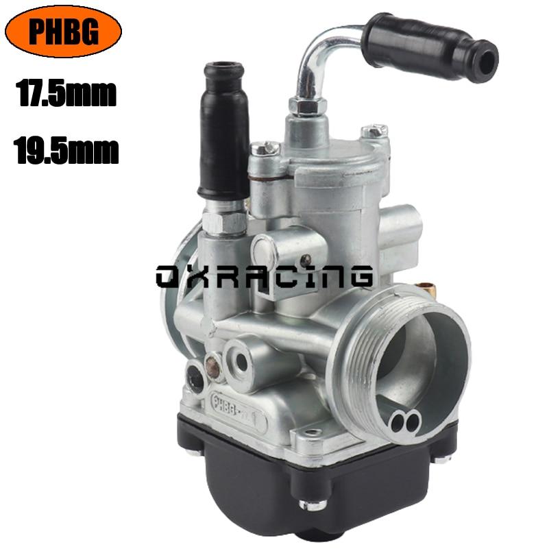 Карбюратор для мотоцикла, карбюратор для PHBG 17,5 мм 19,5 мм, гоночный phbg 17,5 19,5, модель dellorto