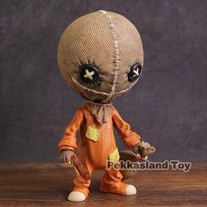 Image 2 - Mezco figura de acción de PVC, Trick R Treat, estilizado, Sam, juguete de modelos coleccionables