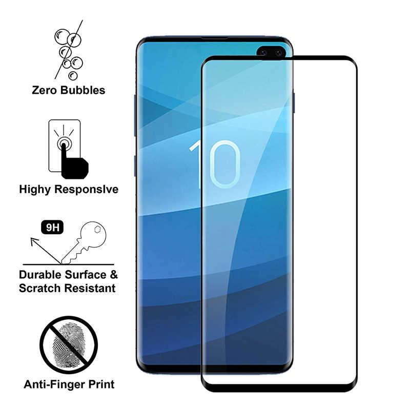 11D Curvo Protetor de Tela Para Samsung Galaxy S10 S10e S9 S8 S7 S6 Mais Borda Lite Filme Vidro Temperado Completa para Samsung Nota 8 9