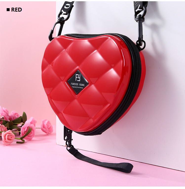 Hc8b8e58d4dec4dd689ccc2e925bec42fl - Fashion Luxury HandBags Heart Shaped PVC Mini Shoulder Bag for Woman Fashion Designer Personality Small Box Women Purses