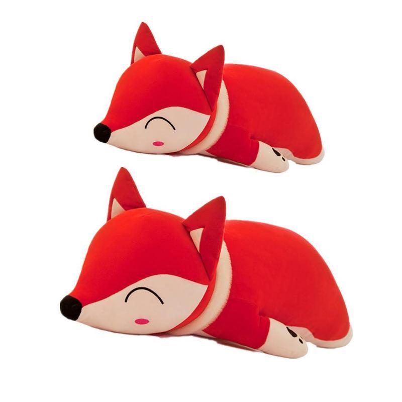35/50cm cute Dolls Stuffed Animals & Plush Toys for Girls Children Boys Toys Plush Pillow Fox Stuffed Animals Soft Toy Doll gift