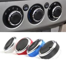 3Pcs Car Air-conditioning Installation  Stylish Air Conditioning Control Switch Knob for Ford Focus 2 3 Mondeo Auto Parts