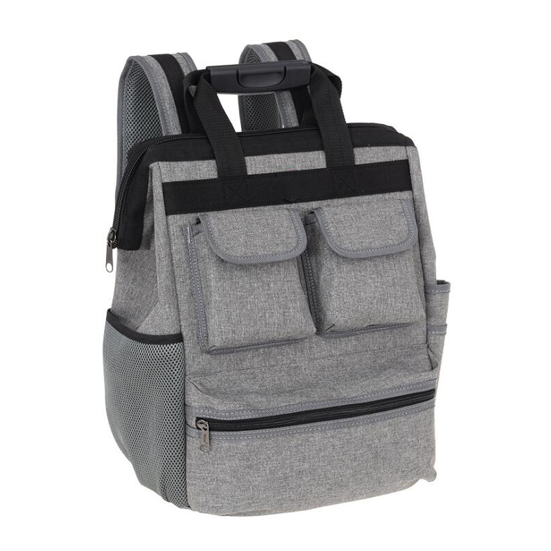 Shoulder Kit Multifunction Tool Backpack Waterproof Wear Oxford Cloth Tool Bag Electrician Repair Tool Bag With Reflective Kit