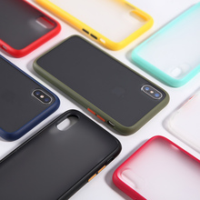 NEW Shockproof Armor Case For Apple iPhone X XS Max XR Transparent TPU Back Cover 7 8 Plus Luxury Silicone