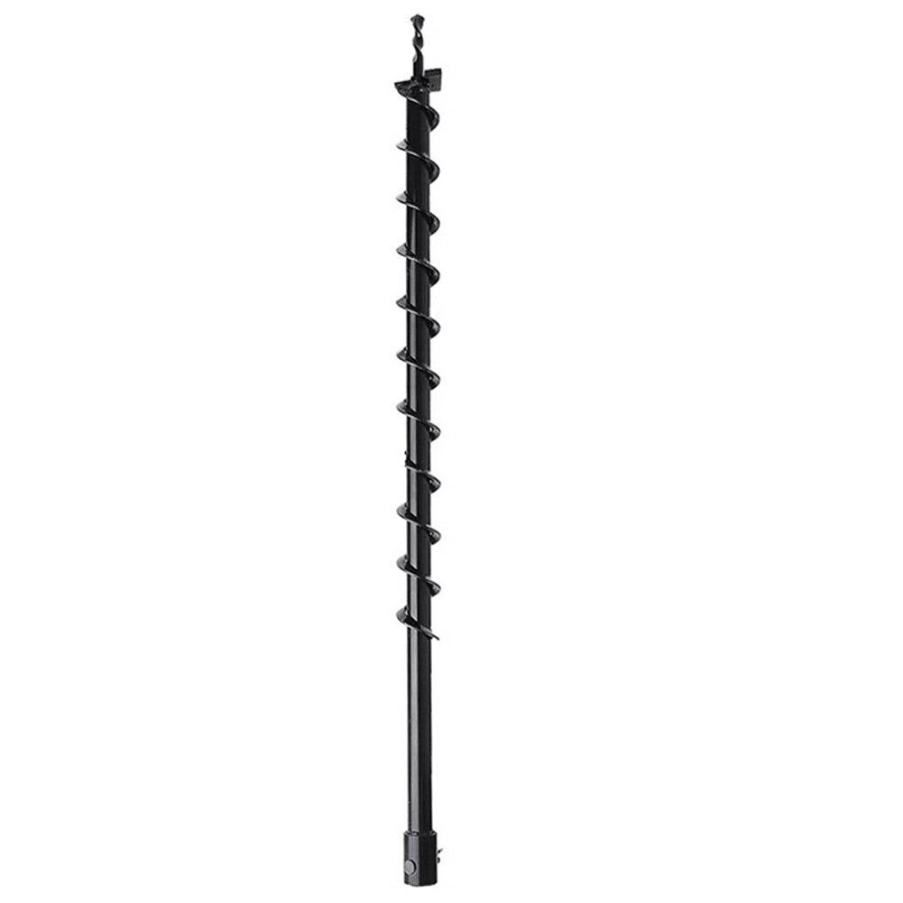 40*800mm Erde Auger Bohrer Zaun Bohrer Für Benzin Post Loch Digger Garten Werkzeug Stahl Für Zaun Post löcher