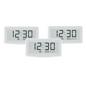 Image 2 - Xiaomi Mijia BT4.0 אלחוטי חכם חשמלי דיגיטלי שעון מקורה וחיצוני מדדי לחות מדחום LCD טמפרטורת מדידת כלים