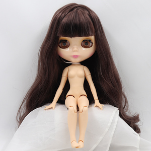 Image 2 - ICY DBS Blyth doll glossy face shiny face natural skin joint body bjd 1/6 toy on sale 30cm