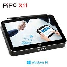 PIPO X11 Mini PC Intel Cherry Trail Z8350 Windows 10 OS กล่องสมาร์ททีวี 2G/32G Quad core CPU HDMI 8.9 นิ้ว 1920*1200P Touch Screen