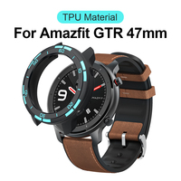 Tpu Cover for Amazfit GTR 47mm Bumper Case Tough Armor Smart Watch Protector Case for Huami GTR 47MM Smartwatch Accessories