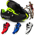 Men's And Women's Professional Mountain Bike Shoes, Outdoor Racing Shoes, Self-Locking Cycling Shoes Easy to breathe