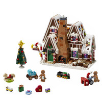 New Gingerbread City Creator Winter Building brick Children's Christmas Toys gifts Compatible with LegoinGOOD Creator 10267