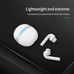 Image 5 - מרוצף עיצוב Bluetooth 5.0 אוזניות סטריאו אלחוטי מגע בקרת אוזניות אוזניות עבור Huawei Iphone Xiaomi נייד