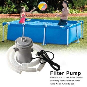 Pool Filter Pump Pool Cleaner Circulation Pump Pool Filter Device For Ponds Swimming Pool UK Plug ponds 50g