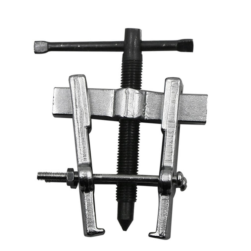65MM Two Jaws Gear Puller Carbon Steel Armature Bearing Spiral Puller Bearing Remover Tools Forging Technology