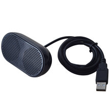 Loudspeaker Music Player Unique Stereo Speaker USB Portable Multimedia Mini For Notebook Laptop(China)