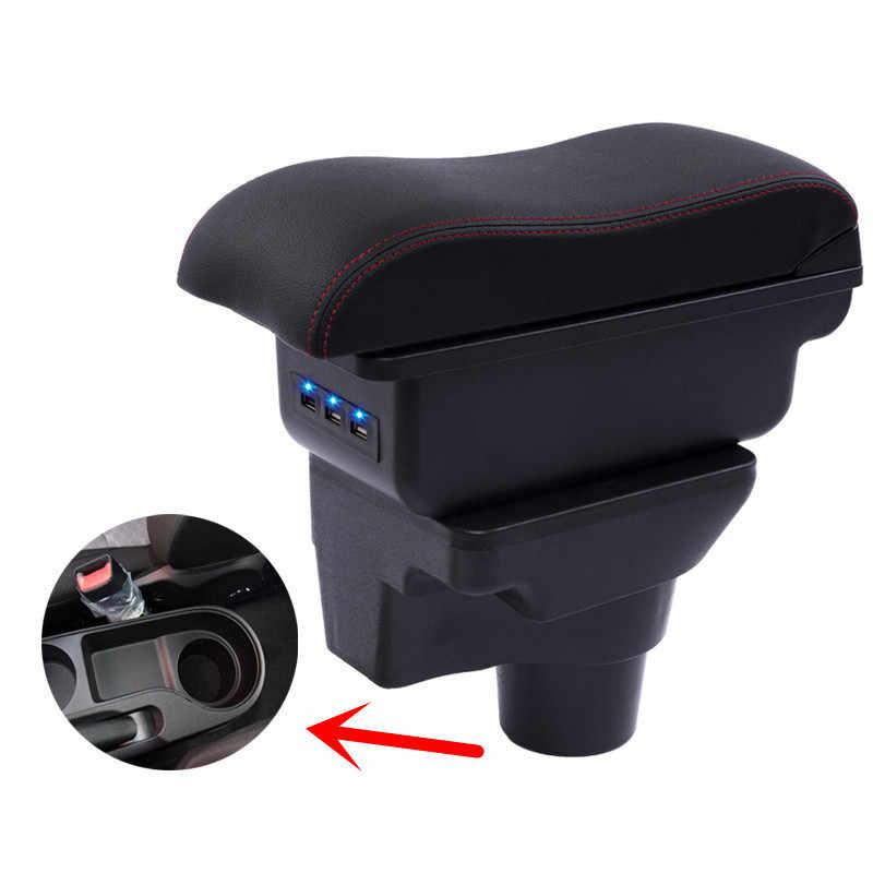 기아 리오 4 X-라인 팔걸이 상자 중앙 저장소 내용 저장 상자 기아 armresrt 컵 홀더 재떨이 제품 USB 인터페이스