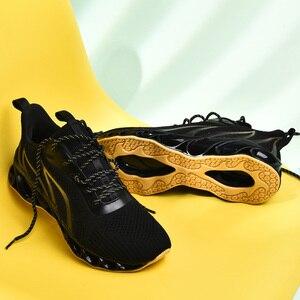 Image 5 - 2020 New Men Sneakers Casual Fashion Men Blade Sneakers Zapatos De Hombre Men Mesh Breathable Shoes Outdoor Sneakers Men