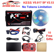 Ecu-Tuning-Tool Protocols KESS Online-Master Newest Support PCB 140 V2.53 Red Token V5.017