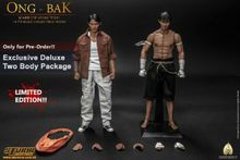 Storm toys 1/6 Ong-Bak The Thai Warrior Ting Tony Jaa Deluxe Vision series Two Head and Body Figure