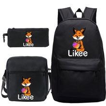 Рюкзак likee в русском стиле для мальчиков и девочек 3 предмета