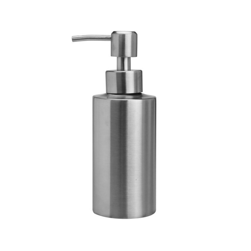 Leakproof Liquid Soap Dispenser Shampoo Container Pump Bathroom Hand Sanitizer Lotion Bottle Stainless Steel Kitchen Shower Gel
