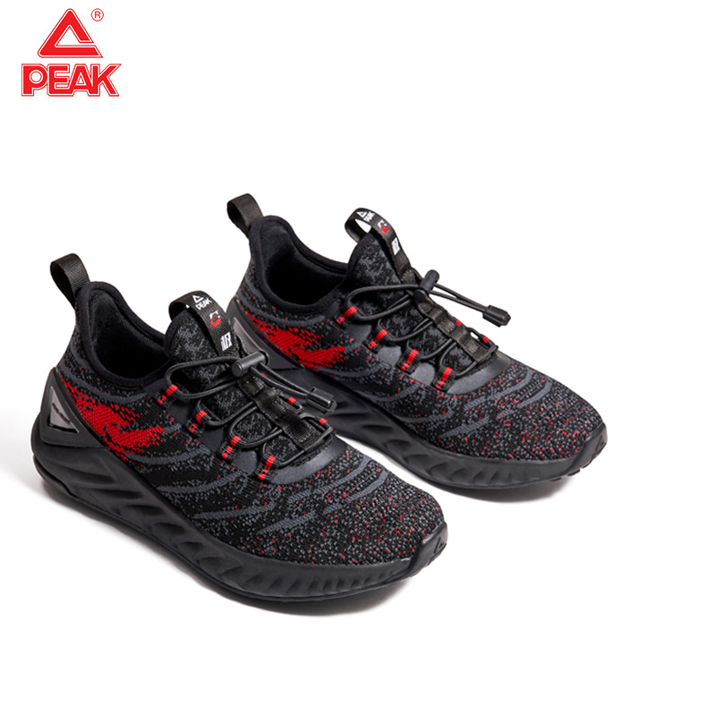 PEAK Women Sport Running Shoes Children Comfortable Running Shoes Outdoor Net Surface Breathable Tennis Sneaker Size 33-38