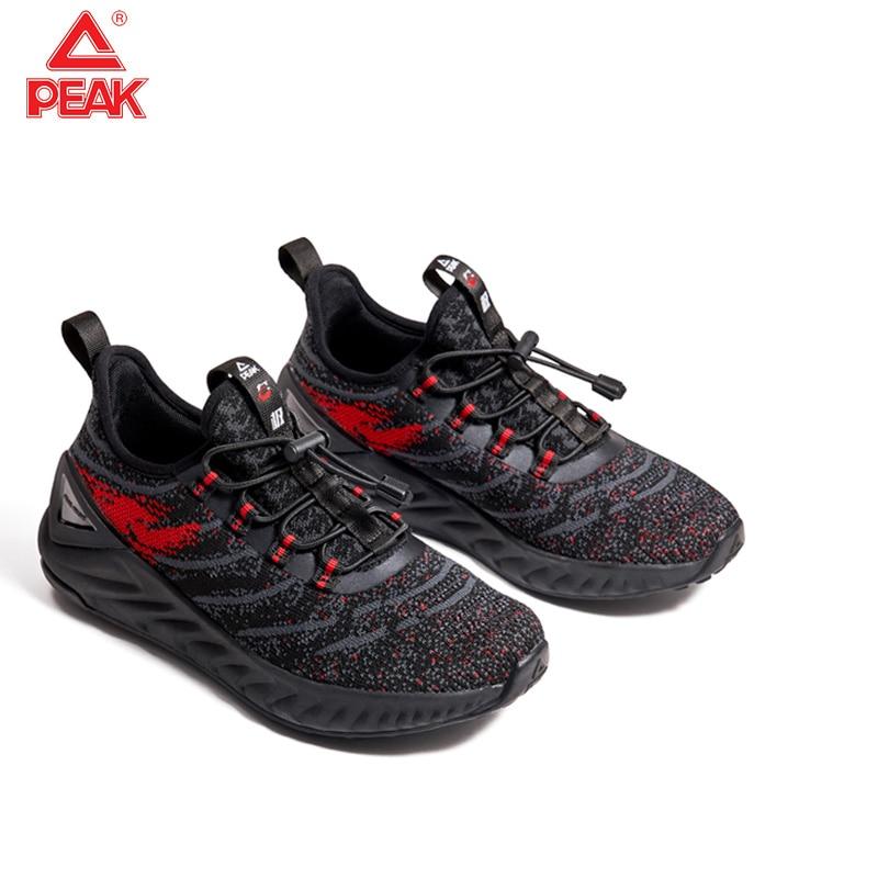 PEAK Women Sport Running Shoes Children Comfortable Running Shoes Outdoor Net Surface Breathable Tennis Sneaker Size 33-38