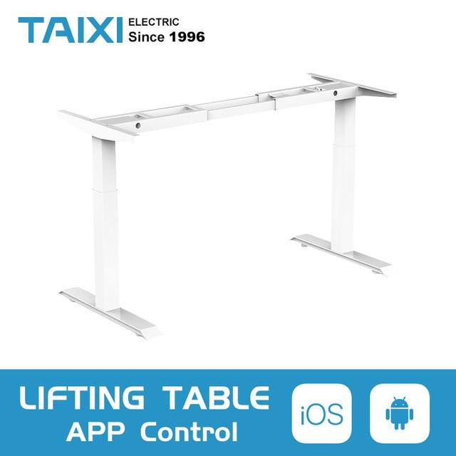 Computer da tavolo di sollevamento elettrico per bambini da tavolo colonna di sollevamento gambe gambe mobili tavolo scrivania intelligente staffa di sollevamento regolabile in altezza
