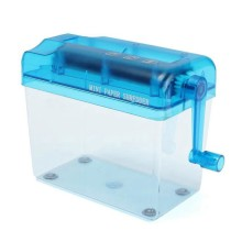 A6 мини ручной шредер Настольный ручной шредер