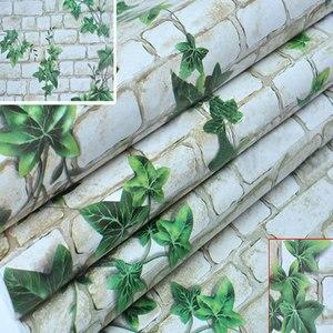 Image 5 - 10m * 45cm bambini carta da parati in PVC coreano autoadesivo impermeabile adesivo da parete per bambini Creeper camera da letto piccoli fiori europei caldi
