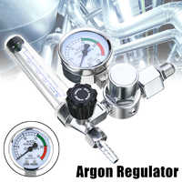 Hohe Qualität Metall Schweißen Gas Meter Argon CO2 Druck Fluss Regler MIG MAG Schweiß Gauge Für Power Tool
