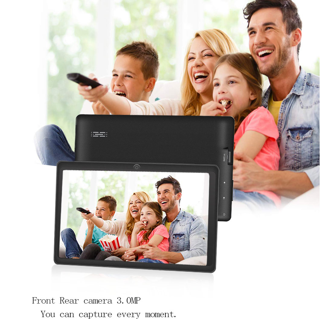 Nuevo 7 pulgadas diseño Original Android 8,0 Quad Core 1G + 8G Android Tablet pc WiFi Bluetooth GPS IPS tabletas - 2