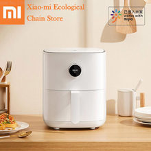 Xiaomi Mijia Smart Air Fryer 3.5L Large Capacity Without Oil Home French Fries Machine Electric Deep Fryer APP & Voice Control