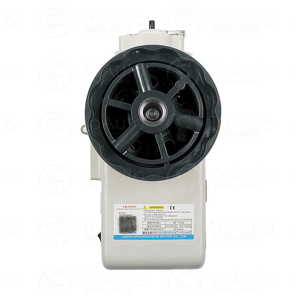 550/750/1000W Terintegrasi Direct Drive Mesin Jahit Servo Motor Cocok untuk Pengganti Mesin Jahit Industri Servomotor
