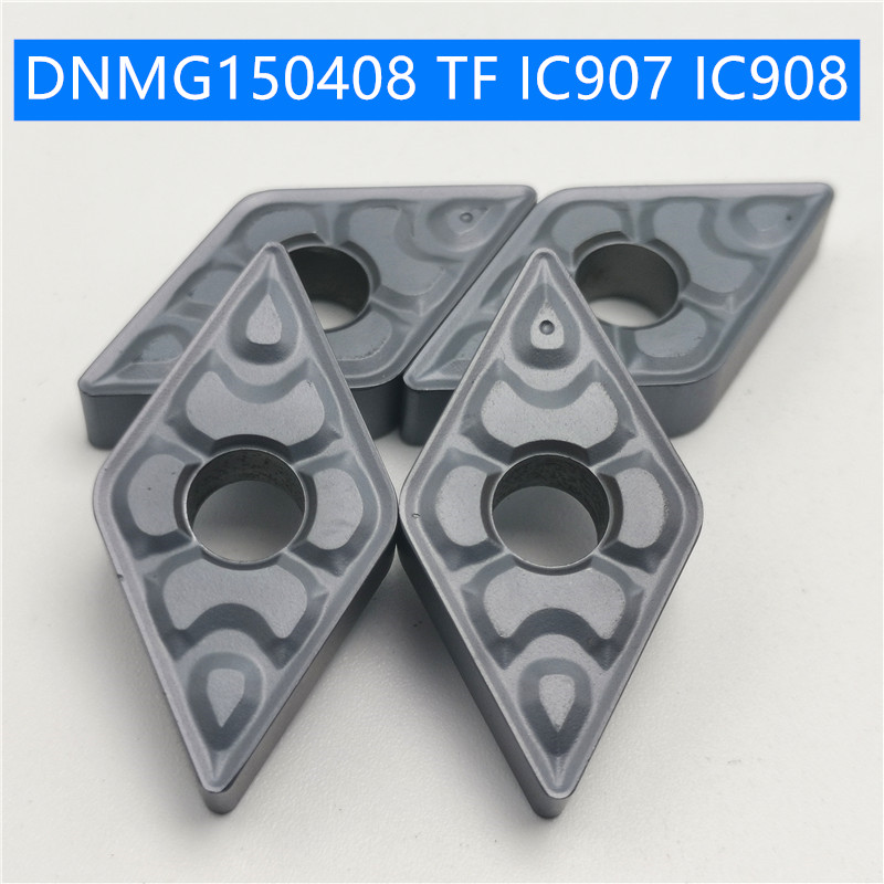 DNMG150604 DNMG150608 TF IC907 Carbide Insert DNMG 150604 TF IC908 Insert Face Mill Lathe CNC Tools Tools Internal Turning Tool