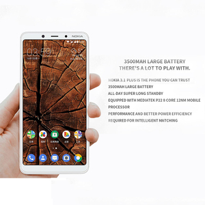 Image 4 - Original Nokia 3.1 Plus 4G Smartphone 6.0 Android 8.1 MTK 6762 Octa Core 3+ 32GB ROM 13.0MP+5.0MP Rear Cameras Mobile Phone