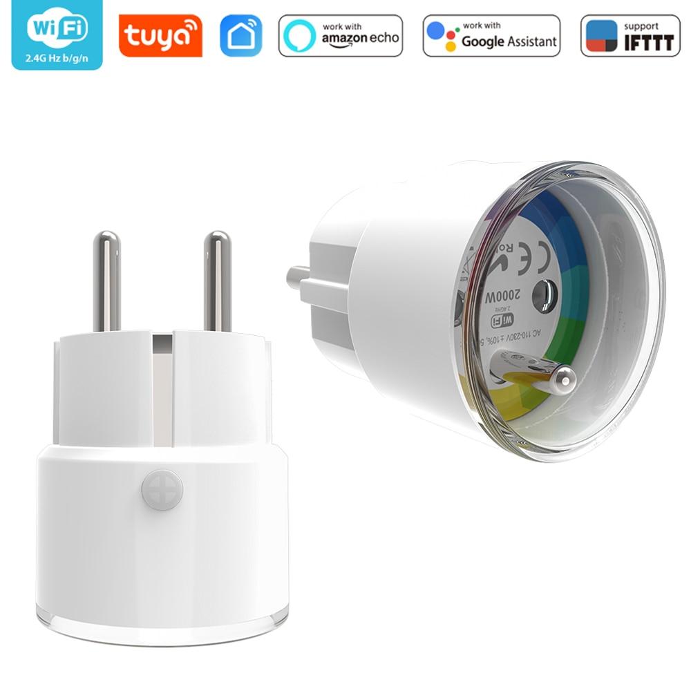 FR Smart Plug Smart France Plug IFTTT Remote Control WiFi Switch Mini Socket Outlet Timer Support Amazon Alexa Google Home