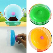 Hamster Wheel Small Animals Toys Cute Plastic Exercise Round Wheel Roller Silent Sports Pet Toy for Guinea Pig Cage Accessories(China)