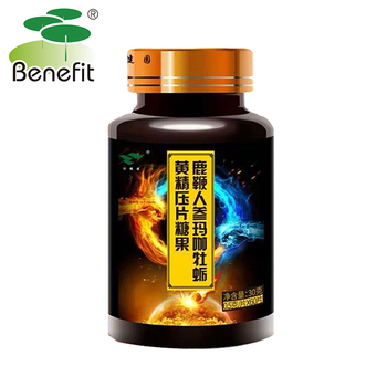Deer pizzle Ginseng Maca Oyster Sealwort Tablets for Man Improve Immunity Sleep Quality Extreme Power Improve sex ability