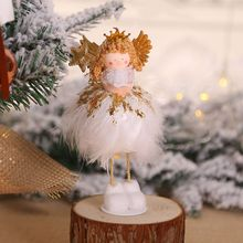 Get more info on the Christmas Plush Standing Angel Doll Desktop Ornament Holiday Figurines Gift For Boys & Girls Christmas Decorations For HomeCM